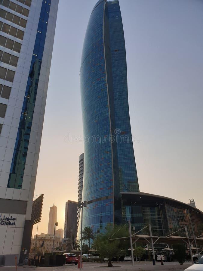 Torres en Kuwait fotografía de archivo