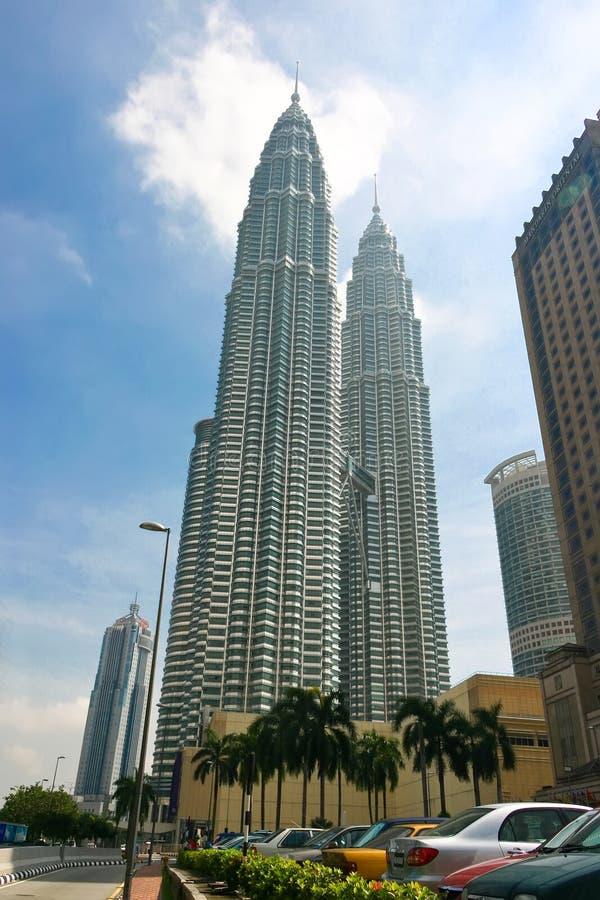 Torres gémeas de Petronas imagem de stock royalty free