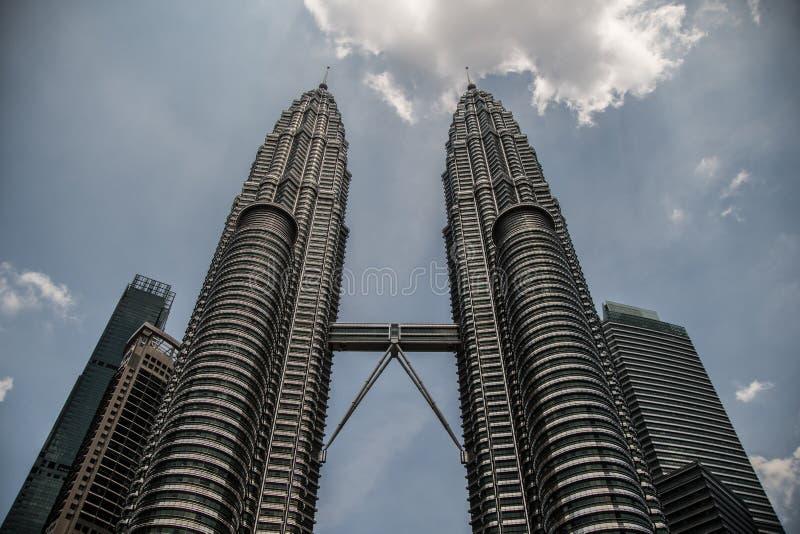 Torres g?meas de Kuala Lumpur Petronas foto de stock royalty free