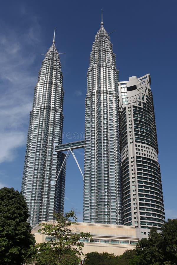 Torres gemelas de Petronas imagen de archivo libre de regalías