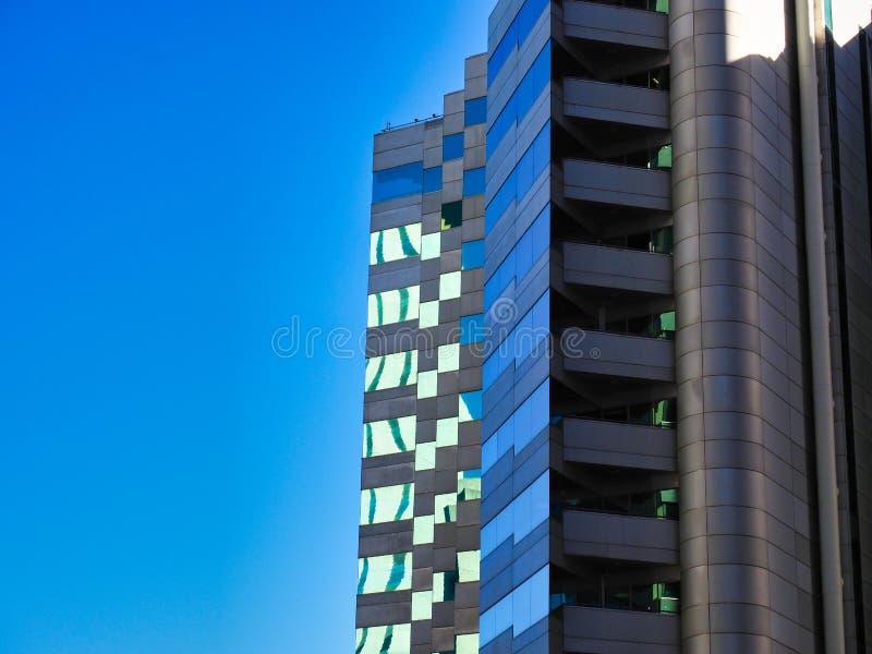 Torres modernas de la oficina, Perth CBD, Australia occidental imagenes de archivo