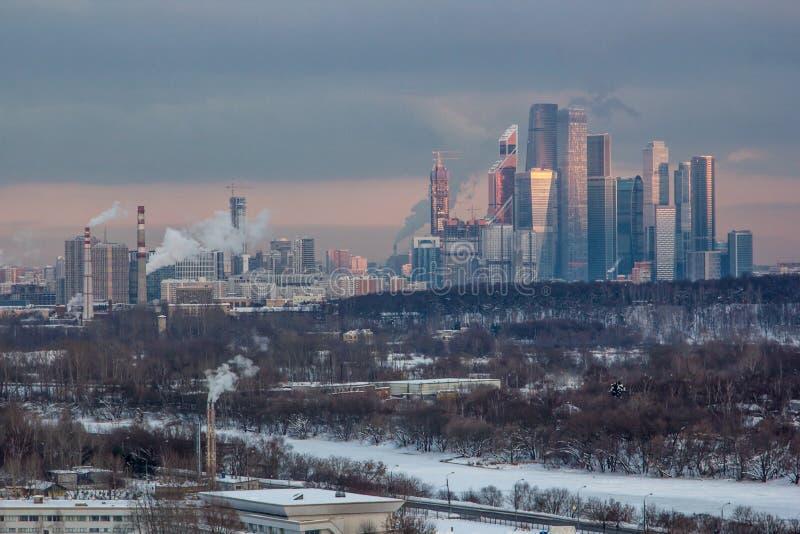 Torres se Moscou imagem de stock royalty free