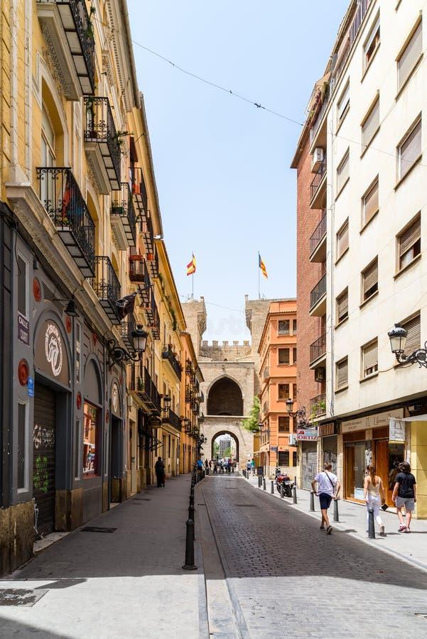 Torres (Torens) DE Quart In Valencia stock foto