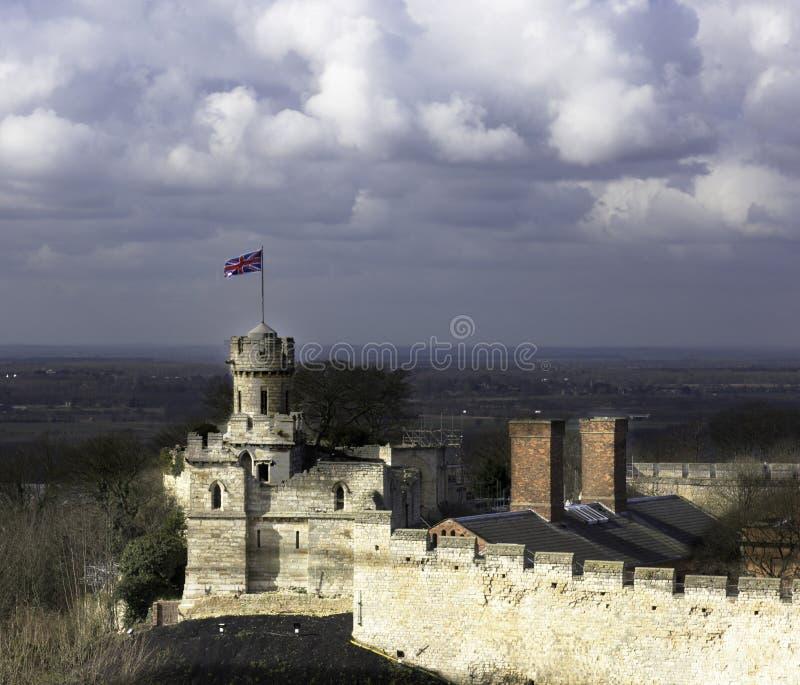 Torreta do castelo de Lincoln foto de stock royalty free