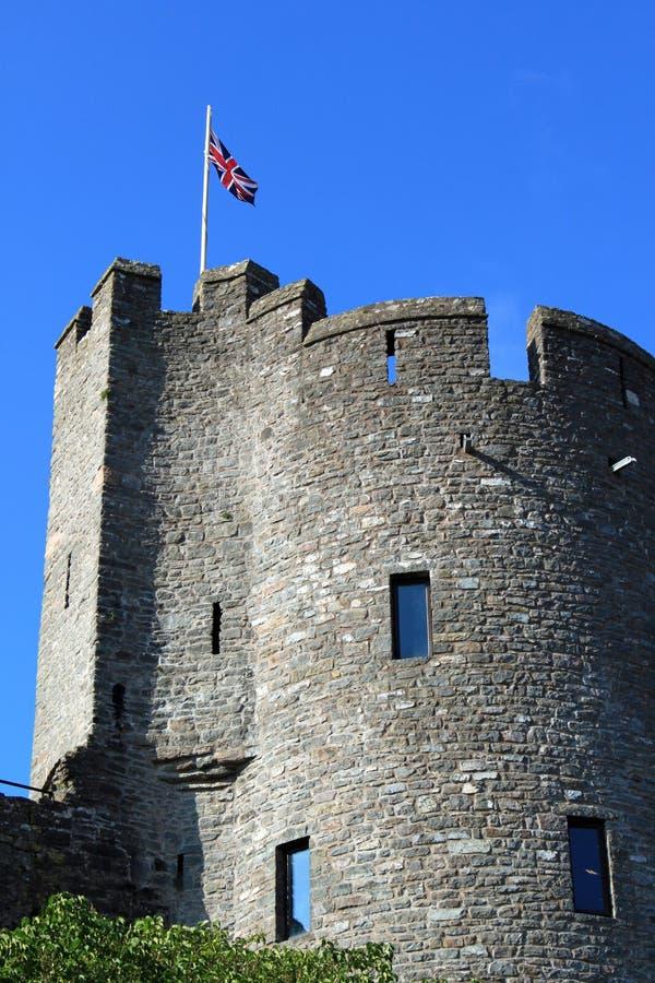 Torreta do castelo do Pembroke. imagens de stock