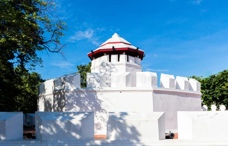 A torreta em Banguecoque, Tail?ndia fotos de stock royalty free