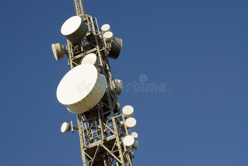 Torretta 3 di telecomunicazioni immagine stock