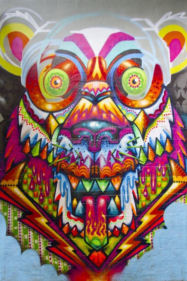 Torretta Berlino della bestia dei graffiti