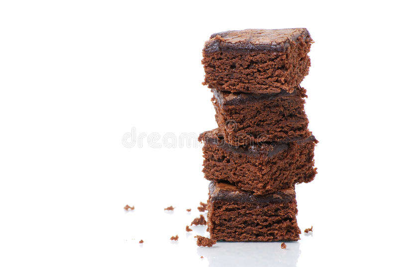 Torretta del brownie immagine stock libera da diritti