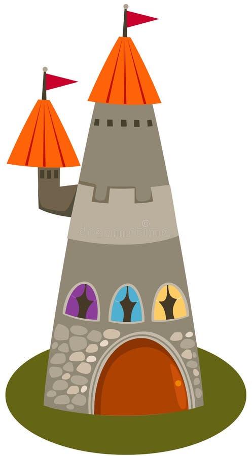 Torretta del castello royalty illustrazione gratis