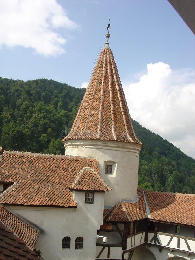 Torretta del castello immagini stock