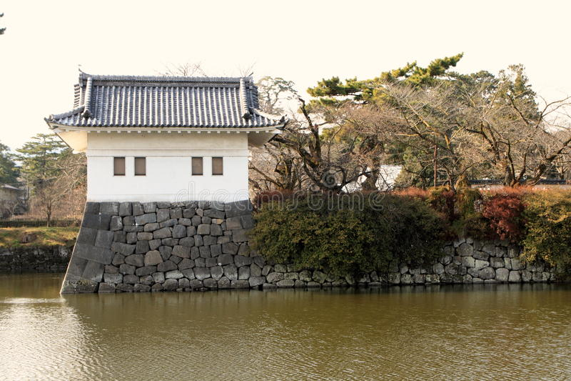 Torretta del castello di Odawara in Kanagawa immagini stock libere da diritti