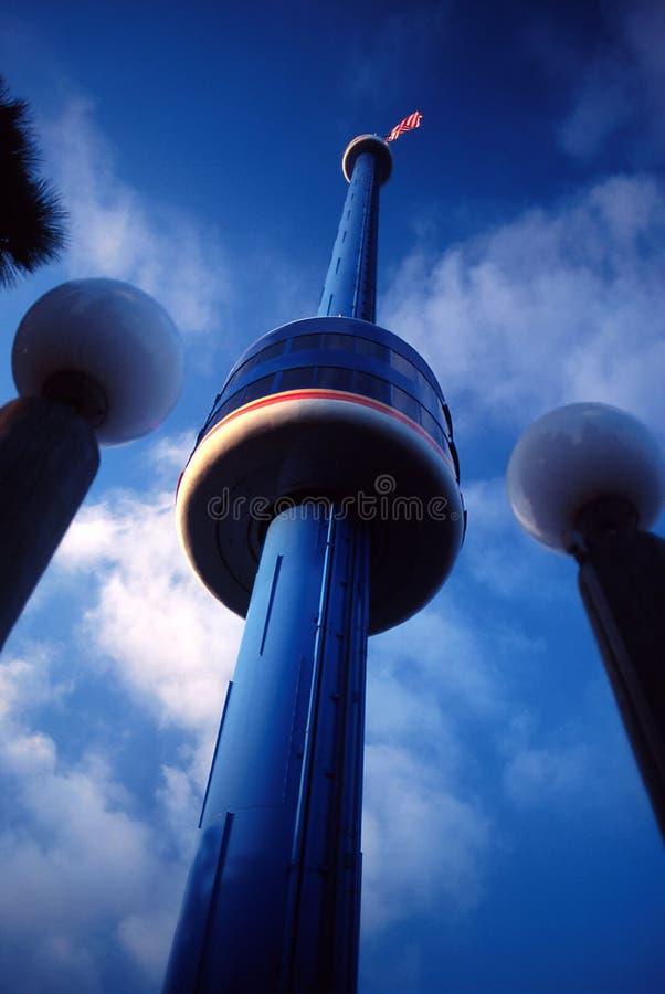 Torretta del cielo fotografia stock libera da diritti