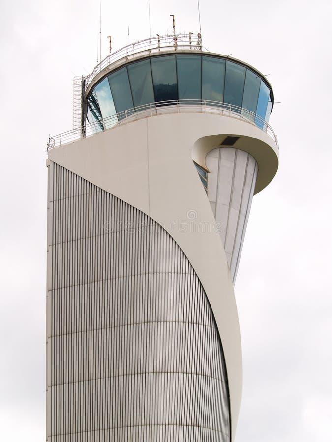 Torretta del controllo del traffico aereo fotografie stock