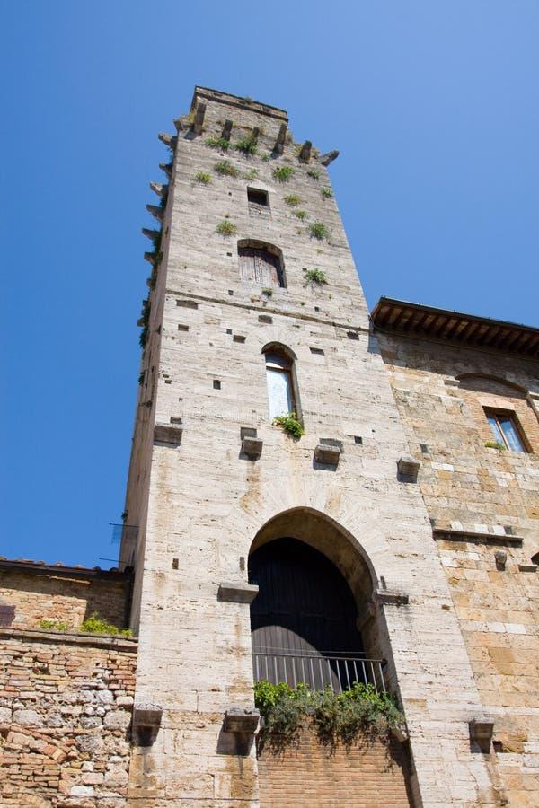 Torretta del San Gimignano immagini stock