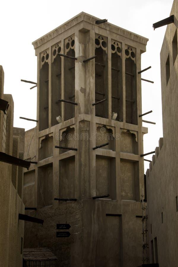 Torretta del vento, Doubai fotografia stock libera da diritti