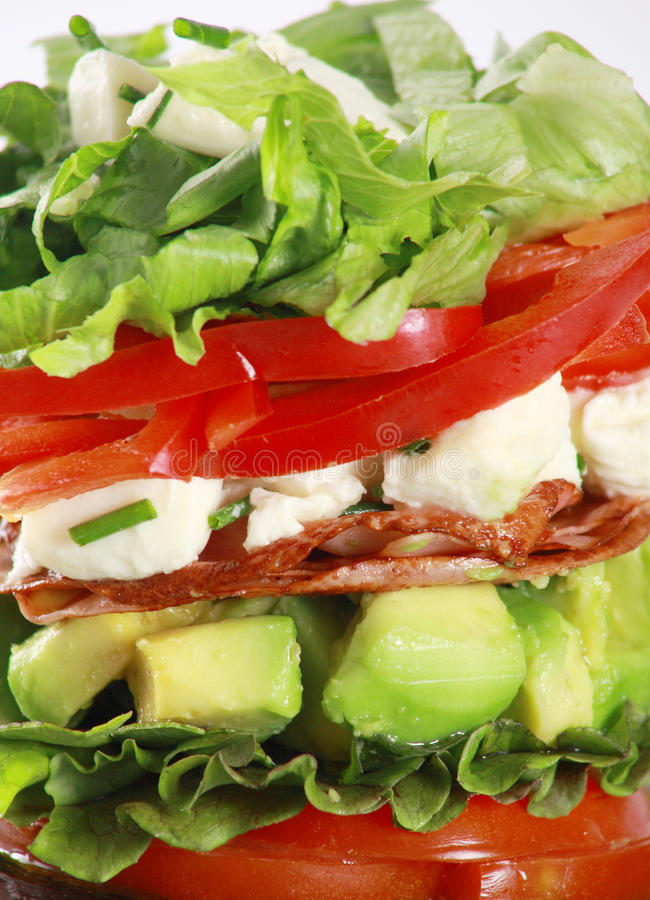 torretta dell'insalata fotografie stock