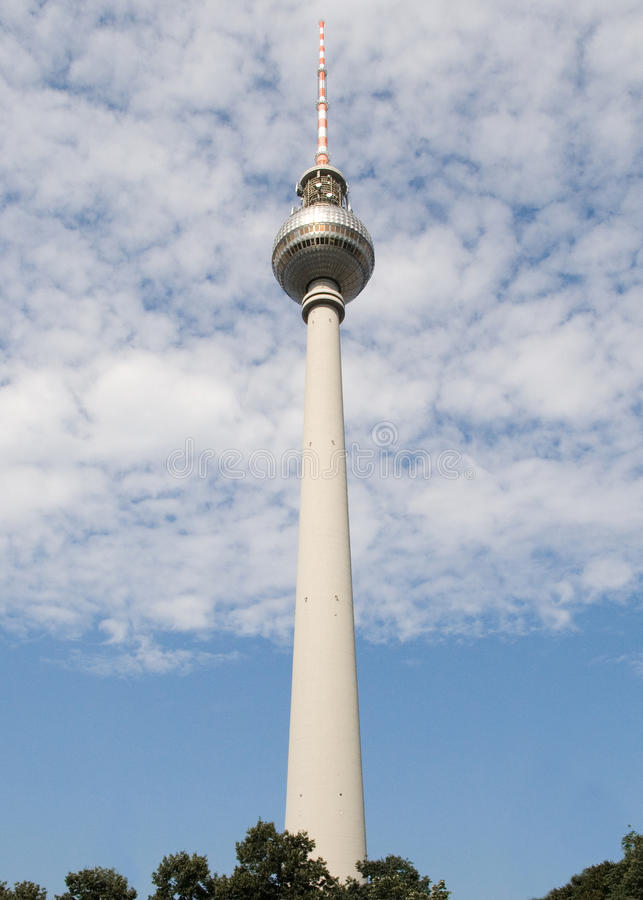 Torretta della televisione - Berlino immagini stock