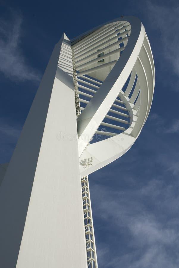 Torretta dello Spinnaker a Portsmouth. L'Inghilterra immagine stock