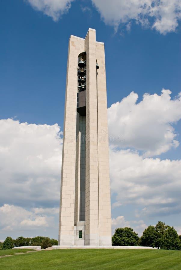 Torretta di Bell del carillon immagine stock