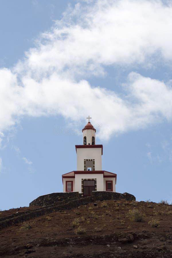 Torretta di Bell di Ermita de la Caridad, EL Hierro immagini stock