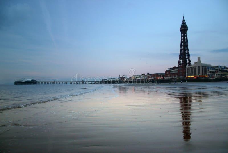 Torretta di Blackpool immagine stock