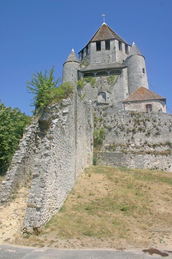 Torretta di Caesars in Provins Francia fotografie stock libere da diritti