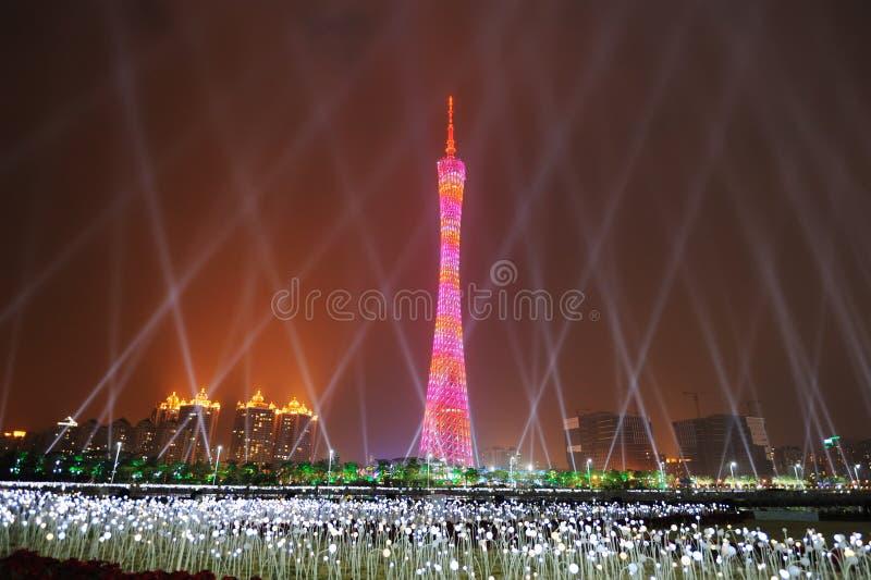 Torretta di Guangzhou fotografie stock libere da diritti