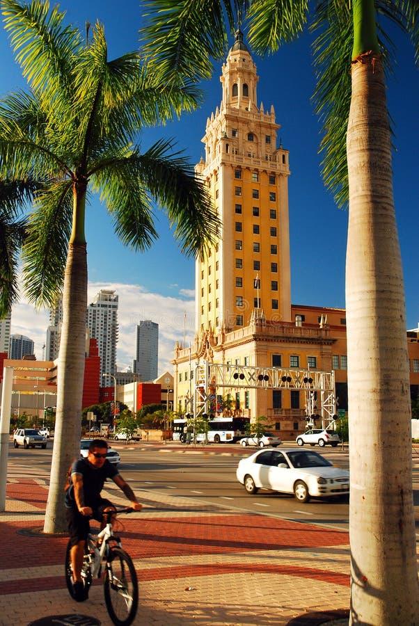 Torretta di libertà, Miami fotografia stock libera da diritti