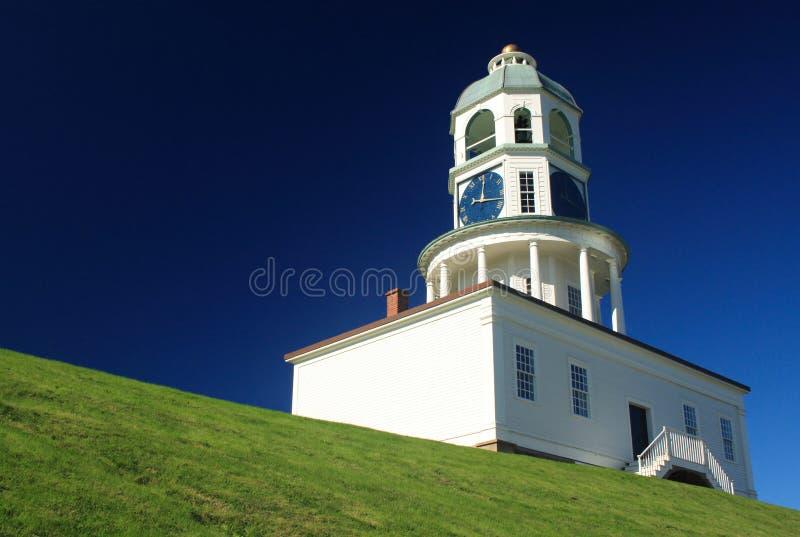 Torretta di orologio di Halifax fotografia stock libera da diritti