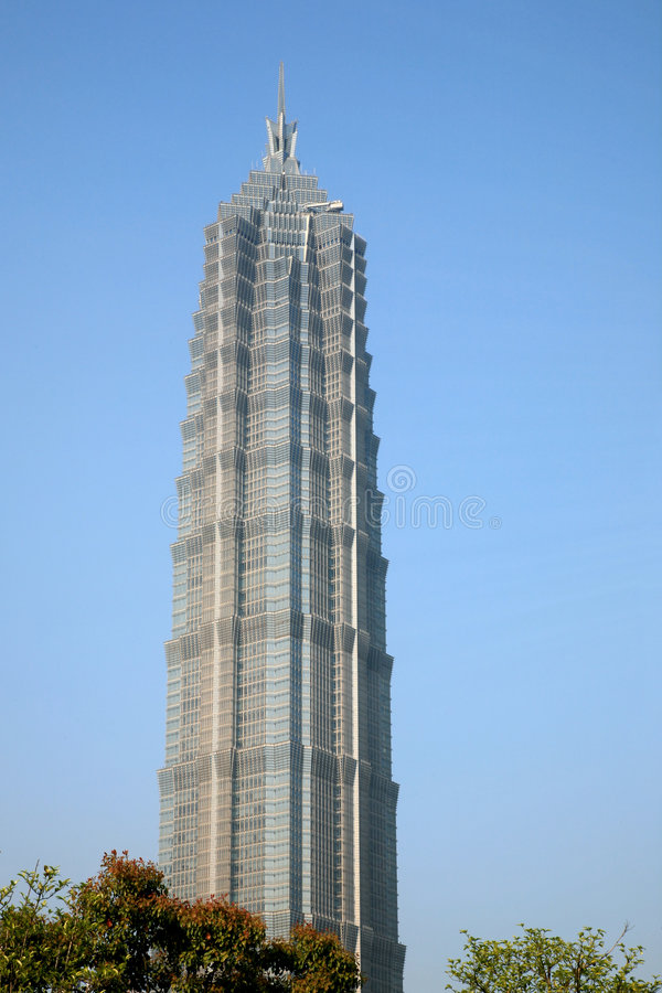 Torretta di Schang-Hai Jinmao immagine stock