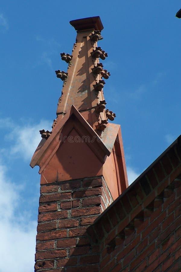 Torretta di vecchia chiesa fotografia stock libera da diritti