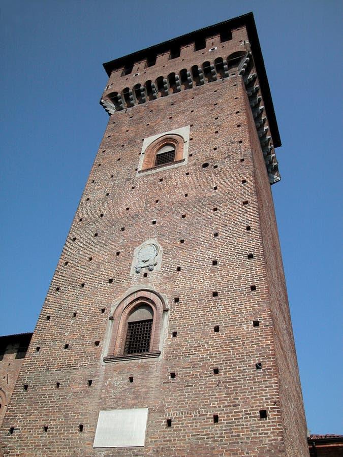 Torretta medioevale del castello immagini stock libere da diritti