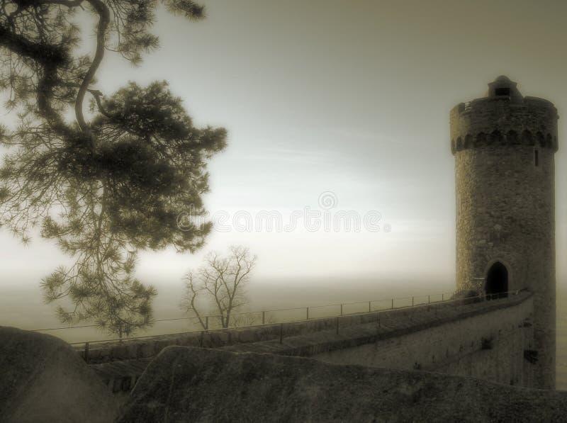Torretta mistica fotografia stock libera da diritti