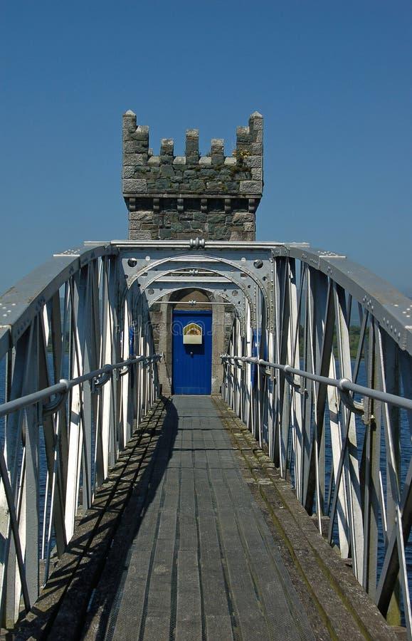 Torretta storica Irlanda del ponticello immagine stock