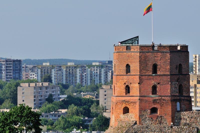 Torretta a Vilnius fotografia stock libera da diritti