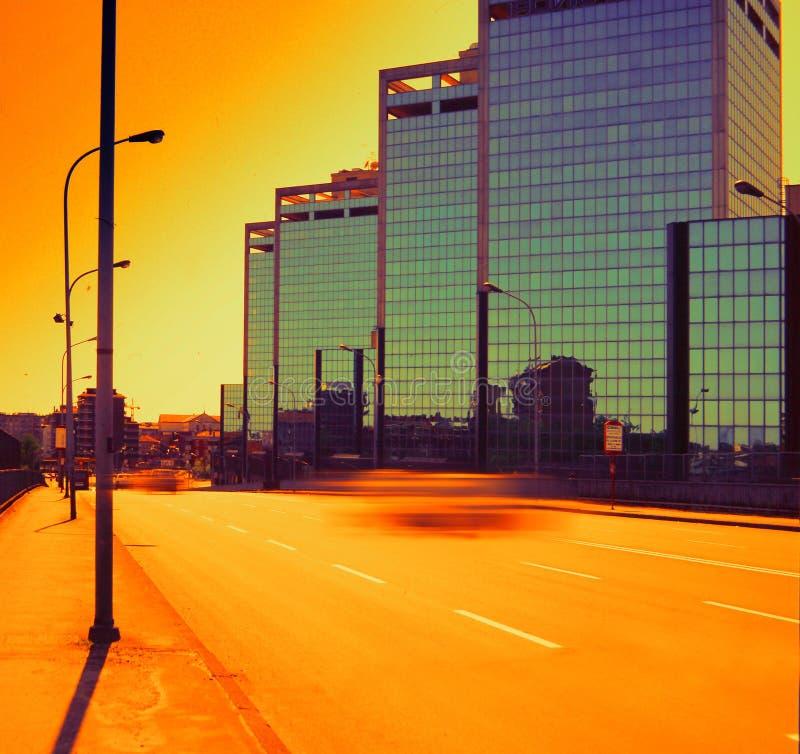 Torrette del sud dell'Milano-Italia fotografie stock