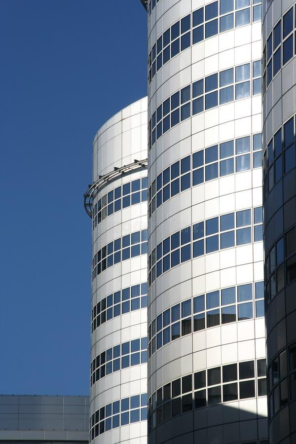 Torrette dell'ufficio a Rotterdam fotografia stock