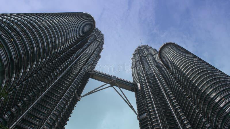 Torrette di Petronas immagine stock