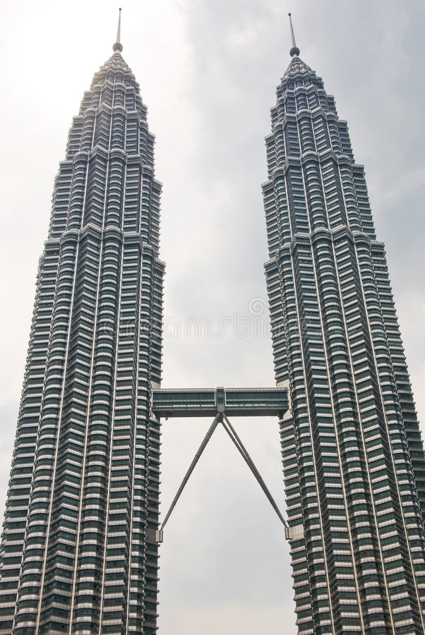Torrette di Petronas, Kuala Lumpur fotografie stock libere da diritti