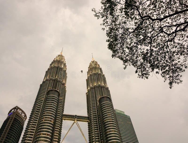 Torrette di Petronas a Kuala Lumpur, Malesia fotografia stock