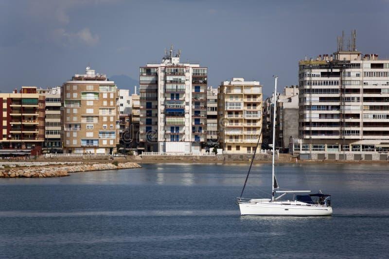 Torrevieja - BLANCA da costela - Spain imagens de stock royalty free