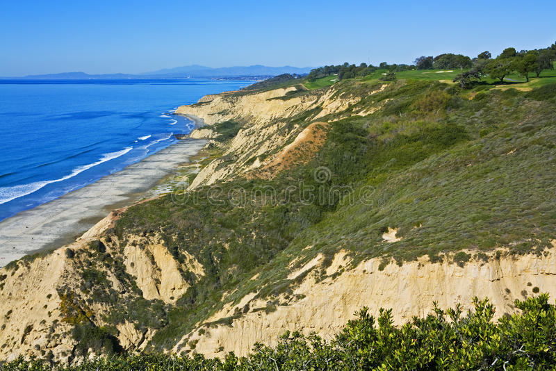Torrey Pines Golf Course stock images