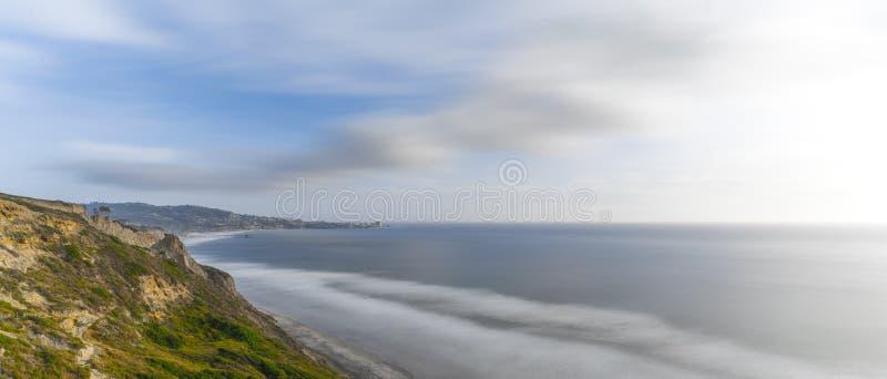 Torrey Pines, San Diego Beach, Californië royalty-vrije stock afbeeldingen