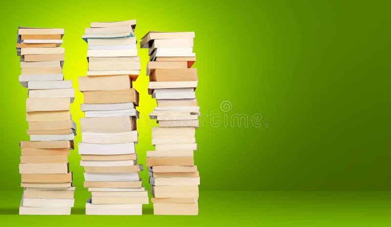 Torri dei libri fotografia stock