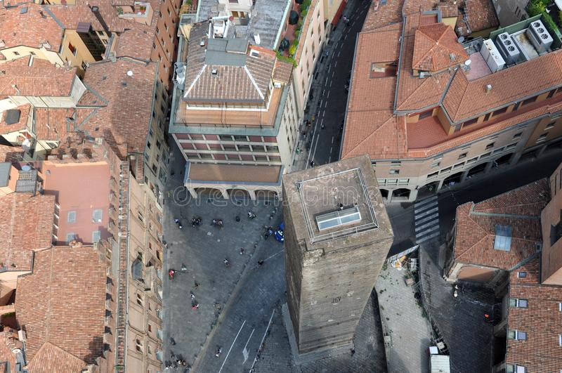 Torri di Bologna fotografie stock libere da diritti