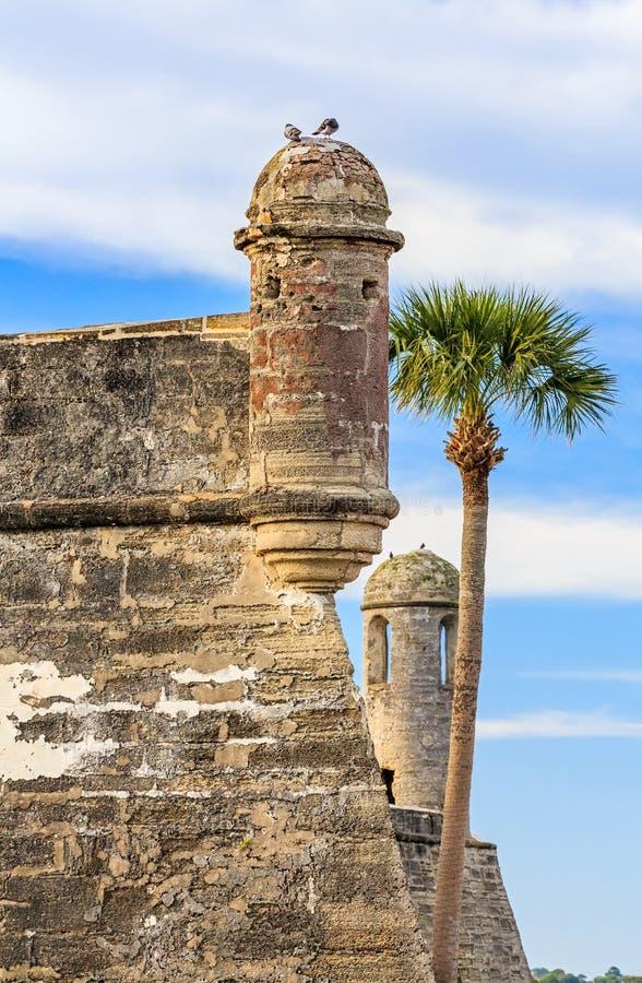 Torri di Castillo immagine stock