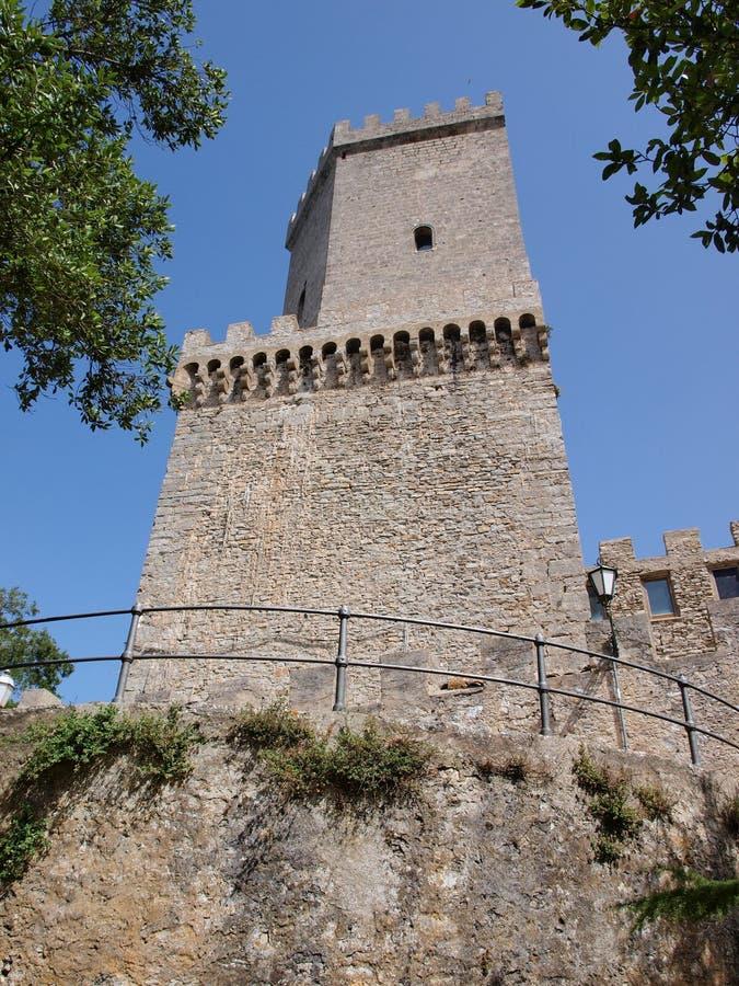Torri Pepoli, Erice, Sicily, Italy royalty free stock image