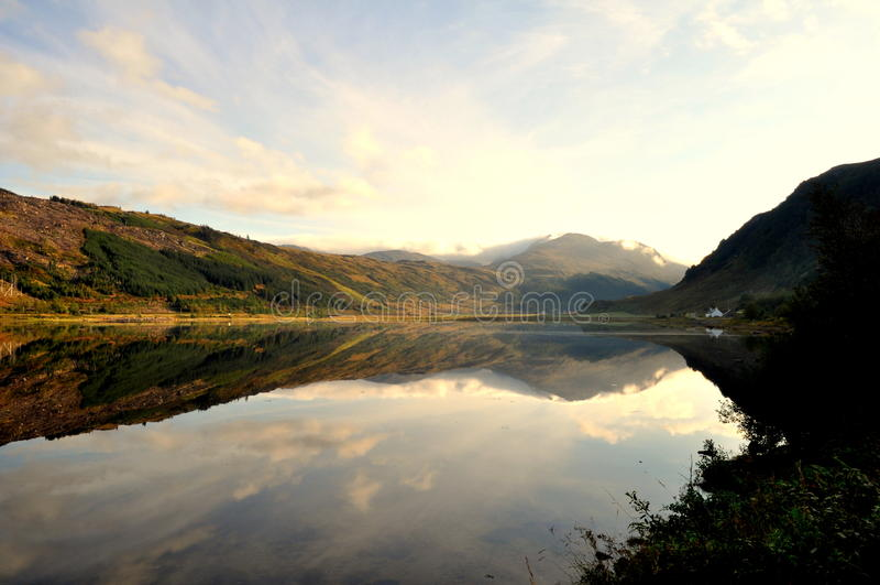 Torridon średniogórza Szkocja fotografia royalty free