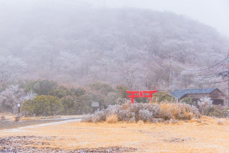 Torrii στο χιόνι moutain στοκ εικόνες